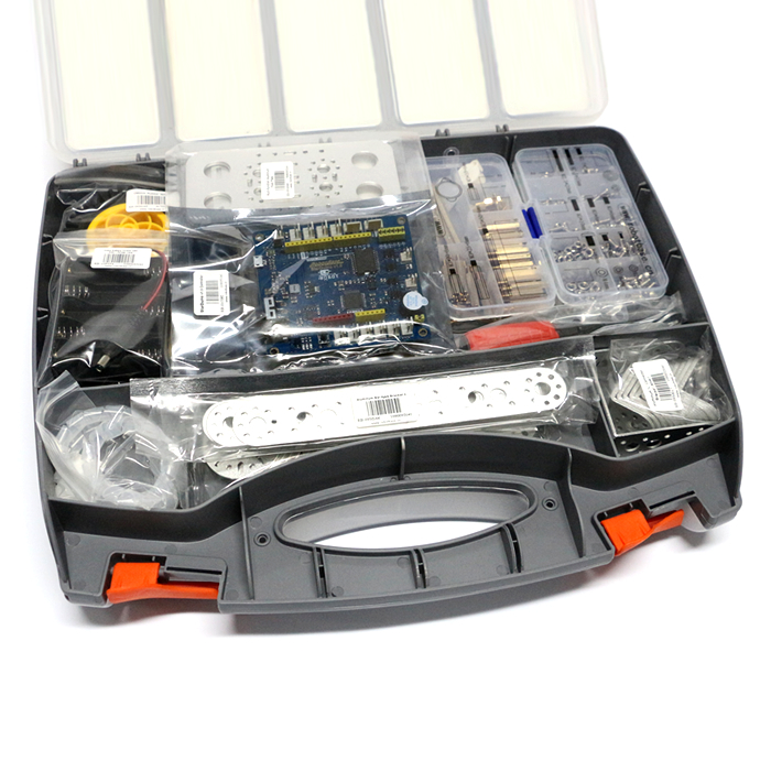 StarDuino v1.0 是以ATmega32U4 为主芯片的多功能控制板