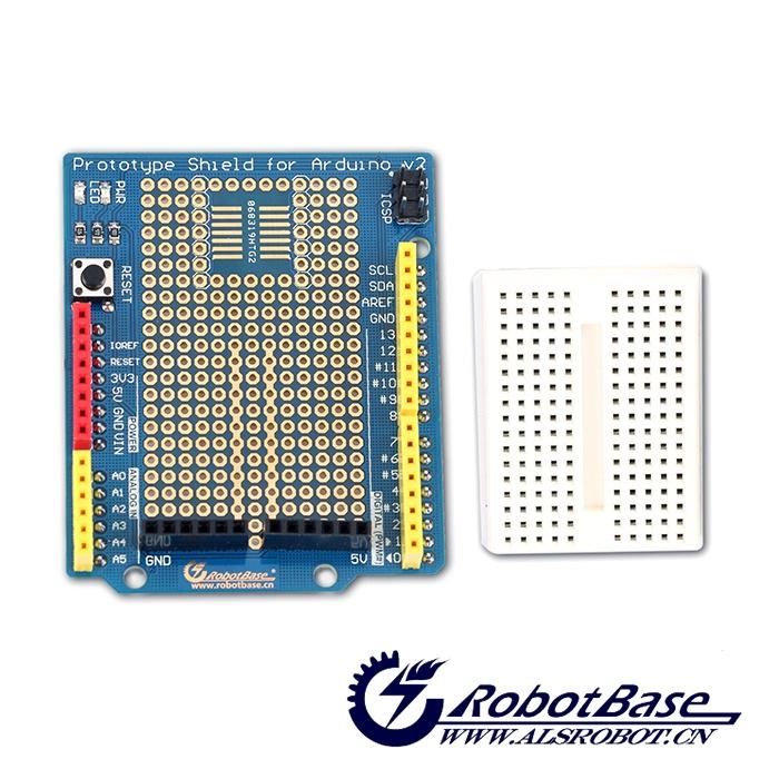 灯,以及复位按键,轻松学习arduino duemilanove控制器首选原型扩展板.