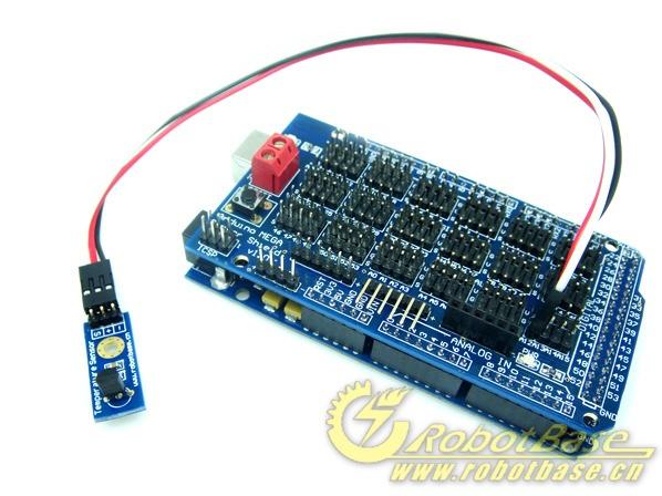 arduino mega sensor shield v2.0 专用传感器扩展板