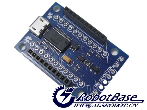 Xbee 底板 zigbee模块底板 ft rl micro usb接口 arduino推荐 zigbee无线
